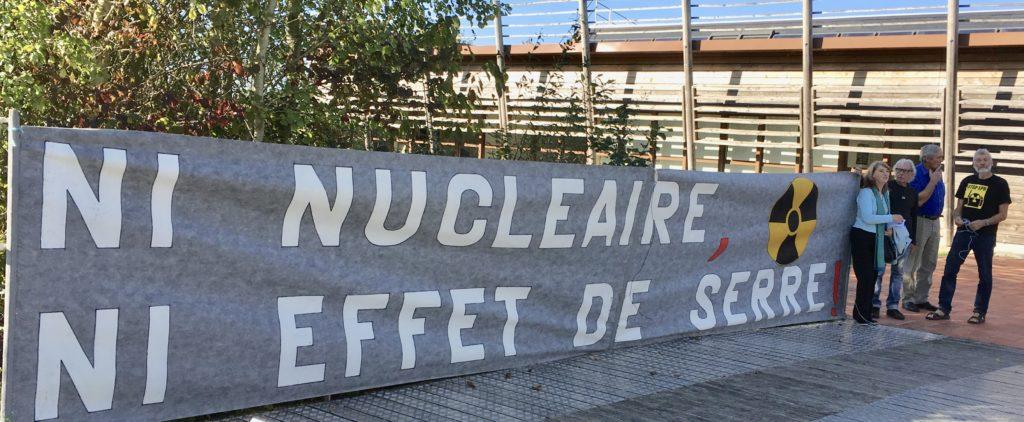 Ni nucléaire, ni effet de serre!